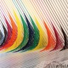 Rebecca Ward's freaking amazing tape installations