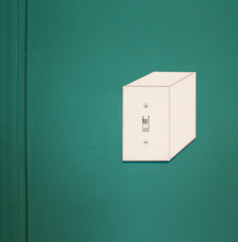 Cubic Switchplate  Lightswitch