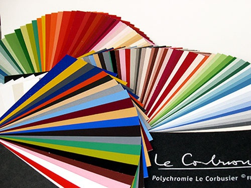 kt.COLOR Le Corbusier paints