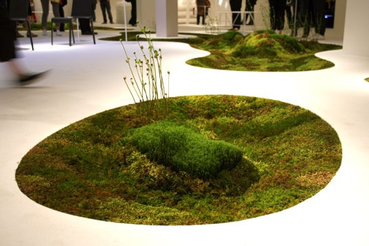 Moss Carpet at 2009 Milan Furniture Fair