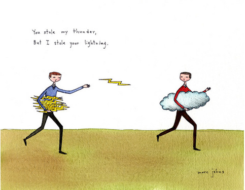 Marc Johns: you stole my thunder