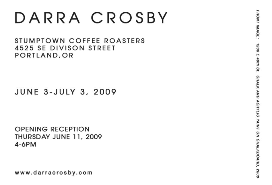 Darra Crosby Postcard