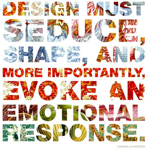 Design must seduce...