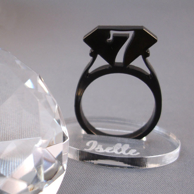 Pick your size Hint Ring