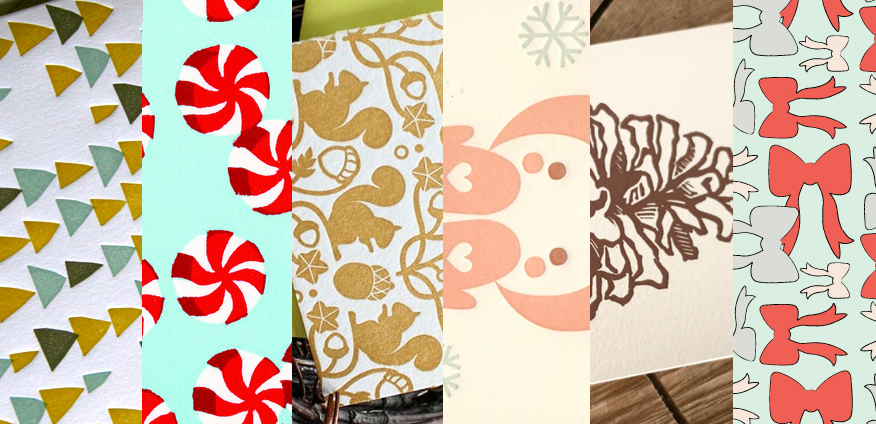 Winter greeting cards from Modish