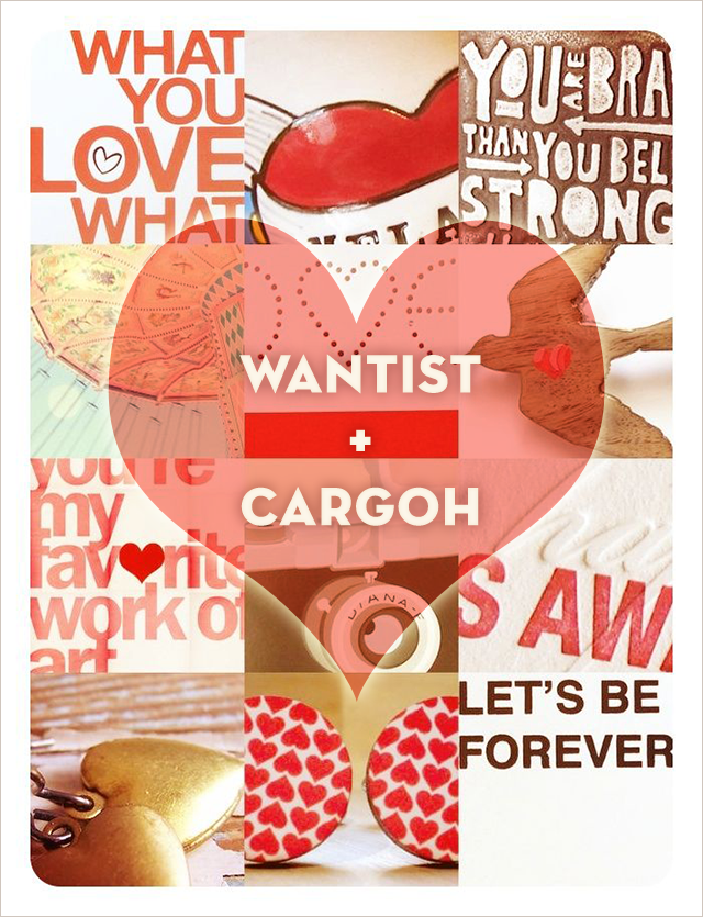 Cargoh Valentine squares