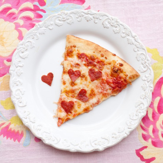 Valentine Pizza by One Charming Party