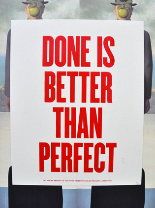 Done is Better Than Perfect by Ben Barry
