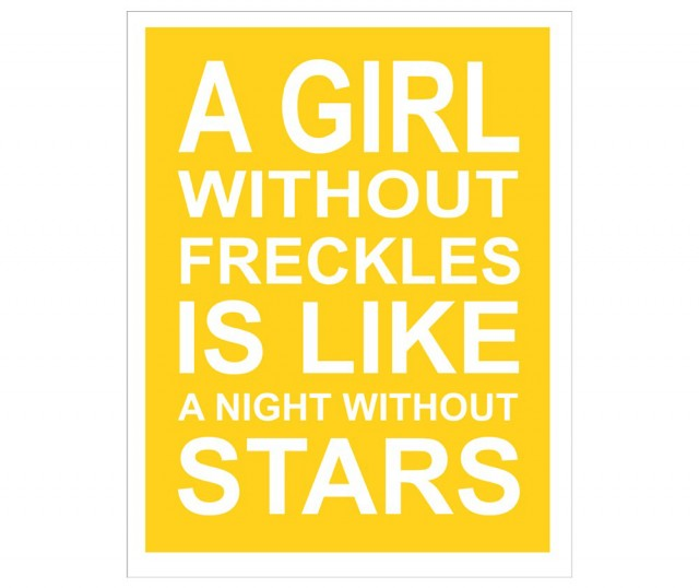 A Girl Without Freckles by Kenny and Zook